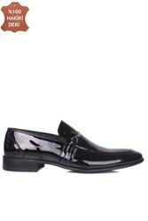 Erkan Kaban 972 020 Erkek Siyah Rugan Klasik Büyük & Küçük Numara Ayakkabı - Thumbnail