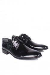 - Erkan Kaban 979 020 Erkek Siyah Rugan Klasik Ayakkabı (1)