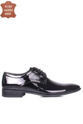 Erkan Kaban 979 020 Erkek Siyah Rugan Klasik Büyük & Küçük Numara Ayakkabı - Thumbnail