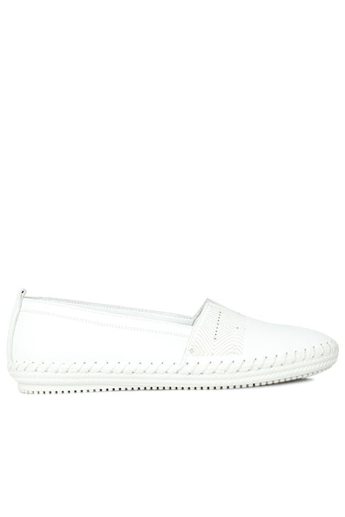 Erkan Kaban 625043 468 Kadın Beyaz Deri Günlük Ayakkabı