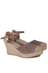 Fitbas 6215 327 Kadın Mink Büyük & Küçük Numara Ayakkabı - Thumbnail