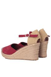 Fitbas 6215 627 Kadın Bordo Büyük & Küçük Numara Ayakkabı - Thumbnail