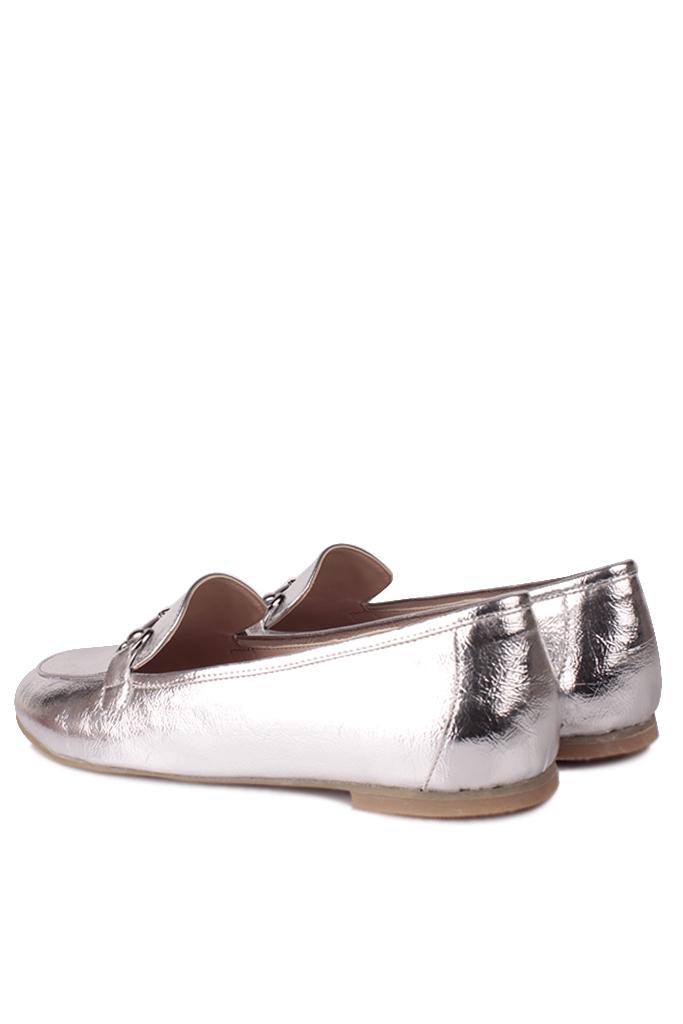 Fitbas 111006 721 Kadın Gümüş Büyük & Küçük Numara Babet