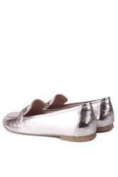 Fitbas 111006 721 Kadın Gümüş Büyük & Küçük Numara Babet - Thumbnail