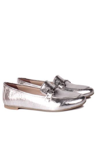 Fitbas - Fitbas 111006 721 Kadın Gümüş Büyük & Küçük Numara Babet (1)