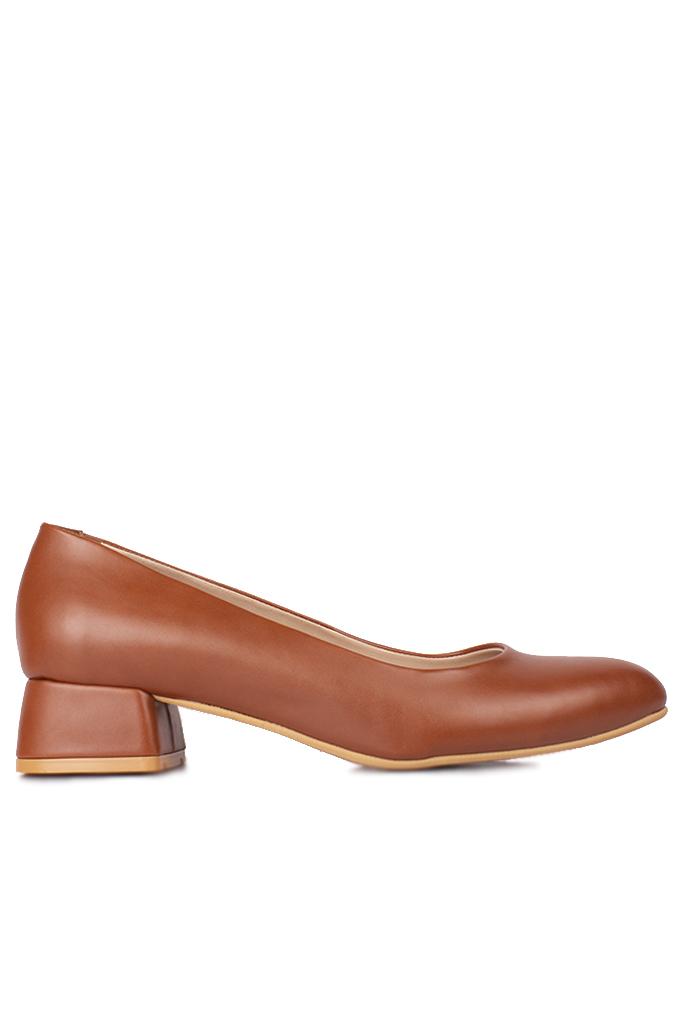 Fitbas 111301 162 Kadın Taba Büyük & Küçük Numara Ayakkabı