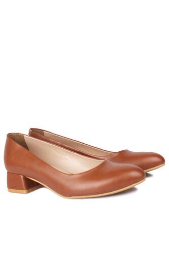 Fitbas - Fitbas 111301 162 Kadın Taba Süet Büyük & Küçük Numara Ayakkabı (1)