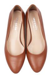 Fitbas 111301 162 Kadın Taba Büyük & Küçük Numara Ayakkabı - Thumbnail