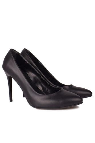 Fitbas - Fitbas 111500 014 Kadın Siyah Büyük & Küçük Numara Stiletto (1)