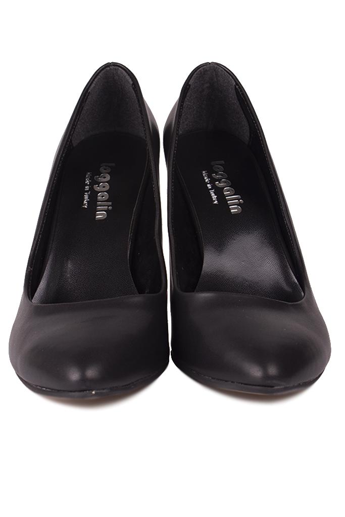 Fitbas 111500 014 Kadın Siyah Büyük & Küçük Numara Stiletto