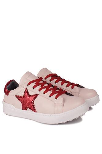 Fitbas - Fitbas 111952 547 Kadın Pudra Kırmızıt Büyük Numara Ayakkabı (1)