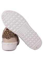 Fitbas 111952 997 Kadın Leopar Büyük Numara Ayakkabı - Thumbnail