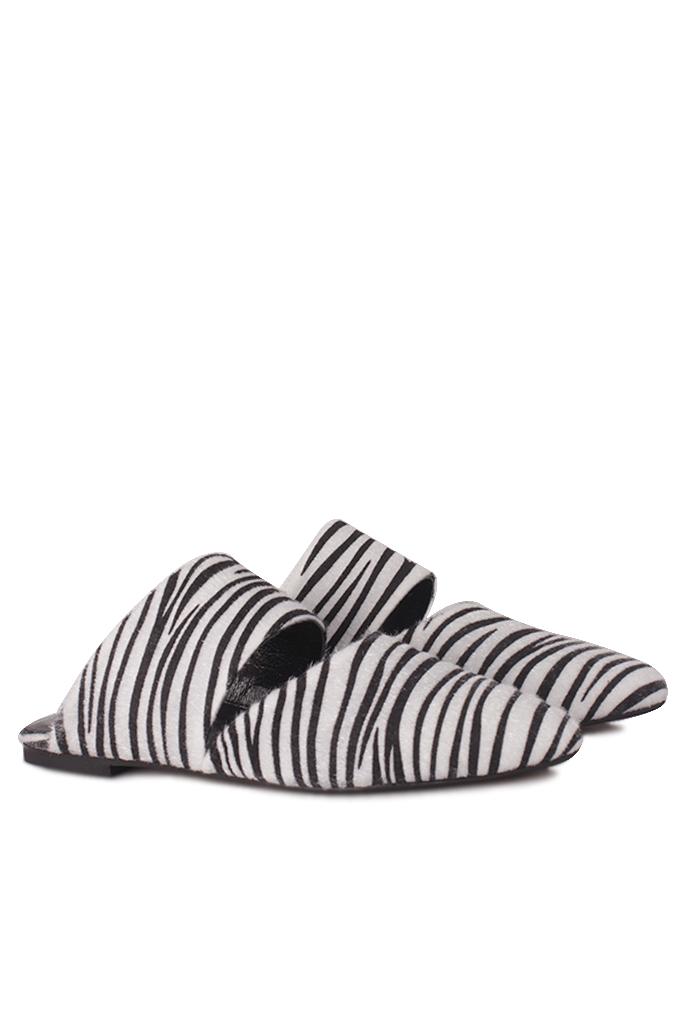 Fitbas 112003 052 Kadın Zebra Büyük & Küçük Numara Babet