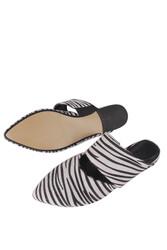 Fitbas 112003 052 Kadın Zebra Büyük & Küçük Numara Babet - Thumbnail
