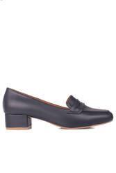Fitbas 112201 418 Kadın Lacivert Büyük & Küçük Numara Ayakkabı - Thumbnail