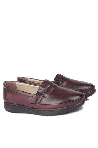 Fitbas - Fitbas 155004 624 Kadın Bordo Günlük Büyük Numara Ayakkabı (1)