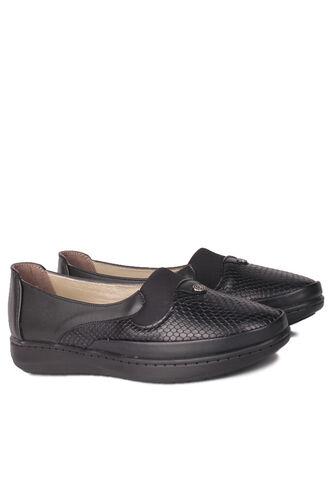 Fitbas - Fitbas 155042 014 Kadın Siyah Günlük Büyük Numara Ayakkabı (1)