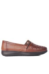 Fitbas 155045 167 Kadın Taba Günlük Büyük Numara Ayakkabı - Thumbnail