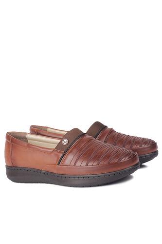 Fitbas - Fitbas 155045 167 Kadın Taba Günlük Büyük Numara Ayakkabı (1)