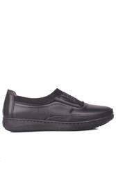 Fitbas 155067 014 Kadın Siyah Günlük Büyük Numara Ayakkabı - Thumbnail
