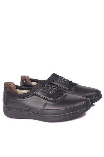 Fitbas - Fitbas 155067 014 Kadın Siyah Günlük Büyük Numara Ayakkabı (1)