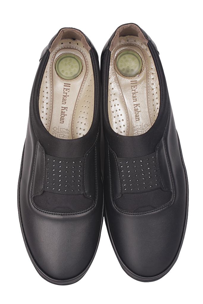 Fitbas 155067 014 Kadın Siyah Günlük Büyük Numara Ayakkabı