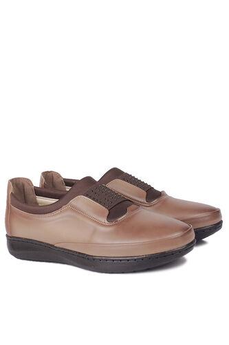 Fitbas - Fitbas 155067 167 Kadın Taba Günlük Büyük Numara Ayakkabı (1)