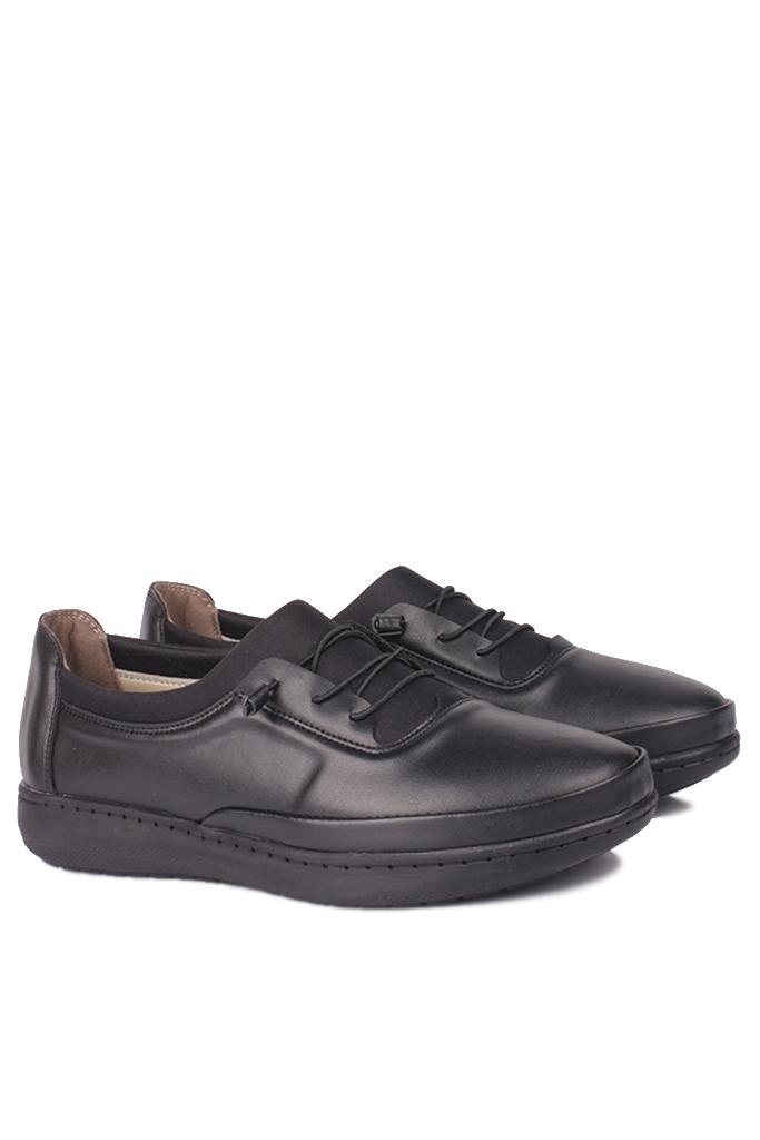 Fitbas 155068 014 Kadın Siyah Günlük Büyük Numara Ayakkabı