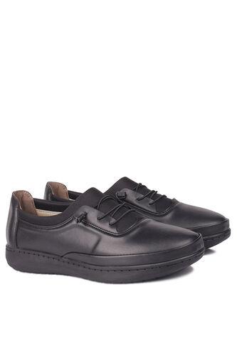 Fitbas - Fitbas 155068 014 Kadın Siyah Günlük Büyük Numara Ayakkabı (1)