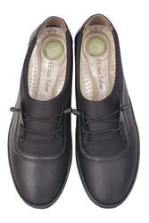 Fitbas 155068 014 Kadın Siyah Günlük Büyük Numara Ayakkabı - Thumbnail