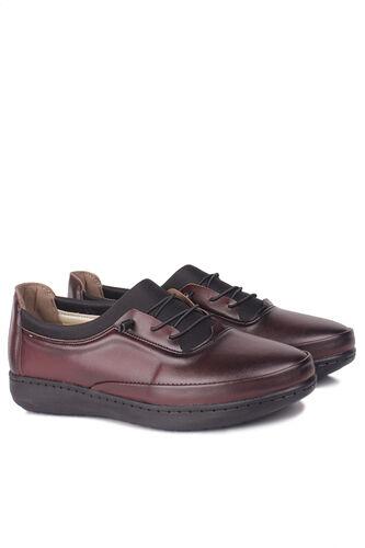 Fitbas - Fitbas 155068 624 Kadın Bordo Günlük Büyük Numara Ayakkabı (1)