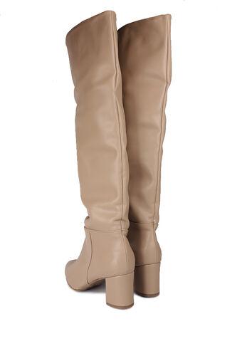 Fitbas - Fitbas 377900 324 Kadın Ten Mat Büyük & Küçük Numara Çizme (1)