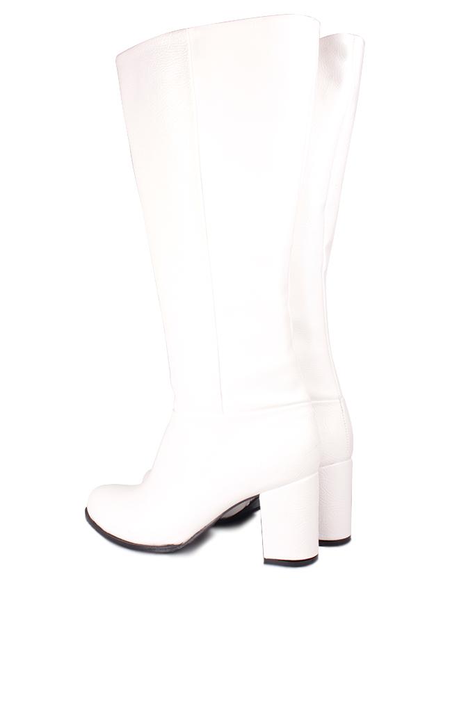 Fitbas 522801 465 Kadın Beyaz Büyük & Küçük Numara Çizme