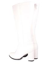 Fitbas 522801 465 Kadın Beyaz Büyük & Küçük Numara Çizme - Thumbnail