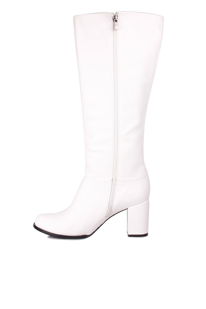 Fitbas 522801 468 Kadın Beyaz Büyük & Küçük Numara Çizme