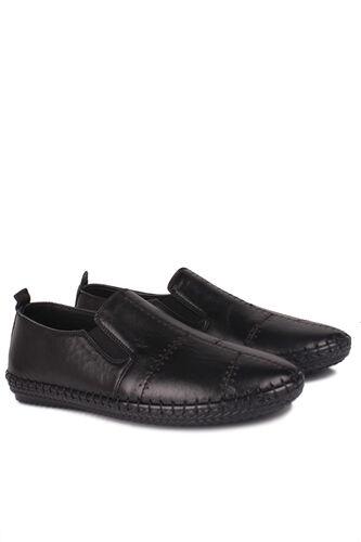 Fitbas - Fitbas 625051 014 Kadın Siyah Deri Günlük Büyük Numara Ayakkabı (1)