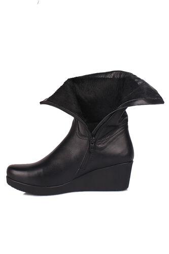 Fitbas - Fitbas 6979 014 Kadın Siyah Büyük & Küçük Numara Çizme (1)