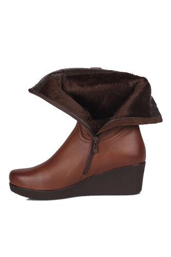 Fitbas - Fitbas 6979 167 Kadın Taba Büyük & Küçük Numara Çizme (1)