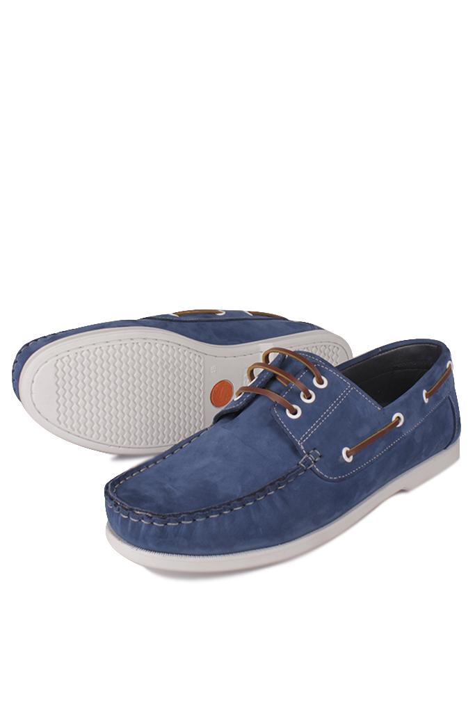 Fitbas 737001 405 Erkek Mavi Nubuk Günlük Büyük Numara Ayakkabı