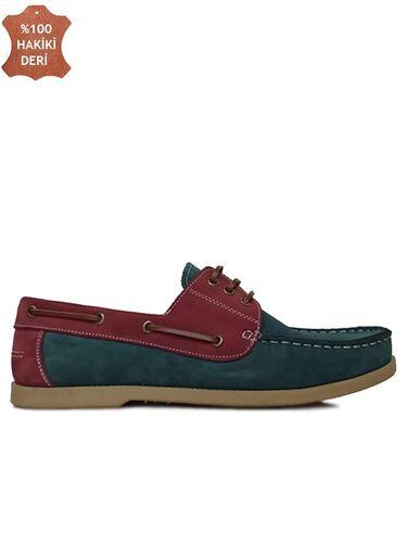 Fitbas 737001 618 Erkek Yeşil Bordo Günlük Büyük Numara Ayakkabı