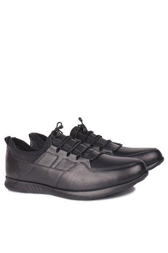 Fitbas - Fitbas 914101 014 Erkek Siyah Deri Büyük Numara Ayakkabı (1)