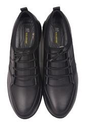 Fitbas 914101 014 Erkek Siyah Deri Büyük Numara Ayakkabı - Thumbnail