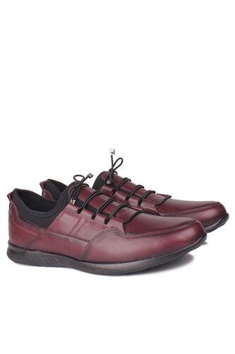 Fitbas - Fitbas 914101 624 Erkek Bordo Deri Büyük Numara Ayakkabı (1)
