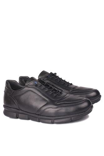 Fitbas - Fitbas 914103 014 Erkek Siyah Deri Büyük Numara Ayakkabı (1)