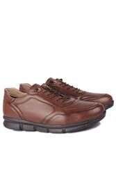 Fitbas 914103 167 Erkek Taba Deri Büyük Numara Ayakkabı - Thumbnail