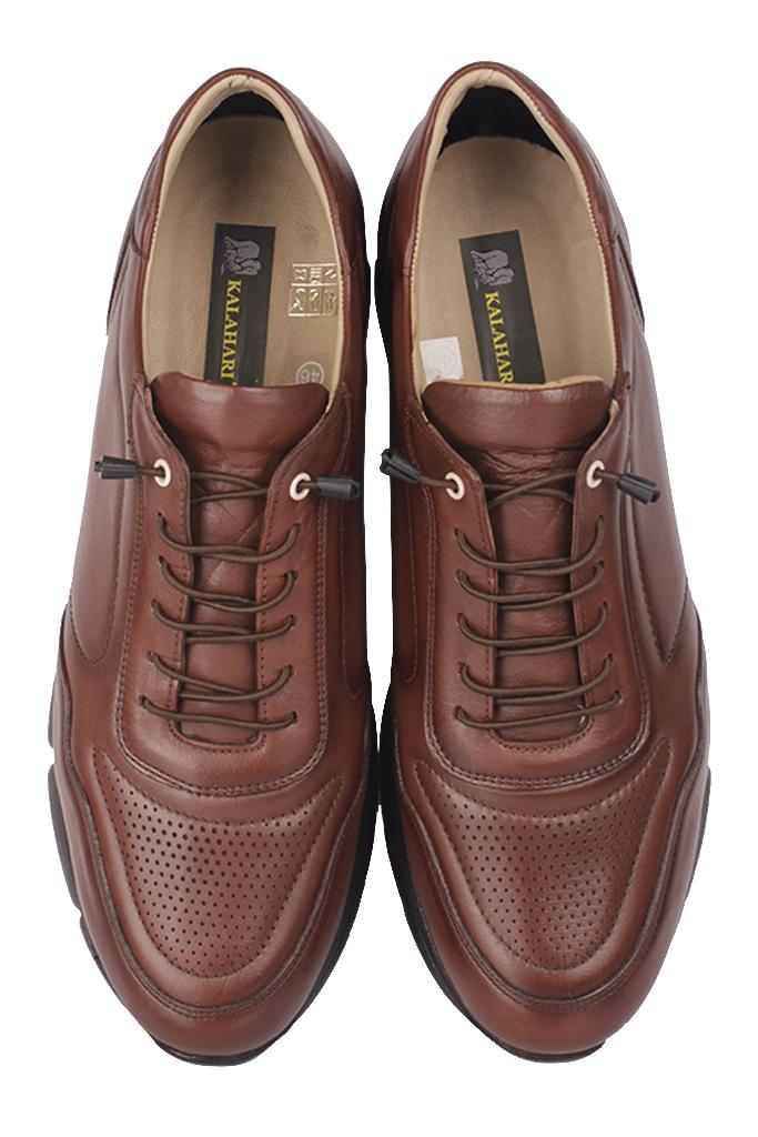 Fitbas 914103 167 Erkek Taba Deri Büyük Numara Ayakkabı