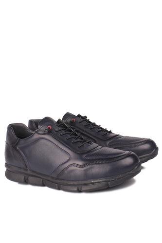 Fitbas - Fitbas 914103 424 Erkek Lacivert Deri Büyük Numara Ayakkabı (1)