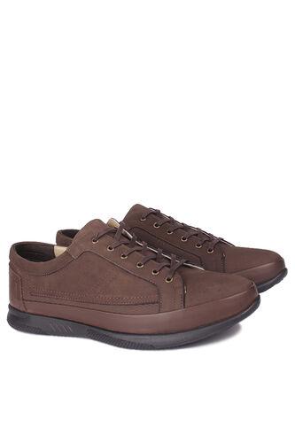 Fitbas - Fitbas 914105 232 Erkek Kahve Deri Büyük Numara Ayakkabı (1)