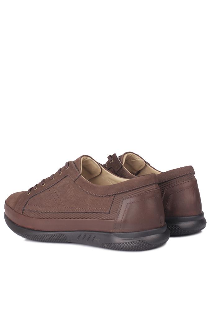 Fitbas 914105 232 Erkek Kahve Deri Büyük Numara Ayakkabı