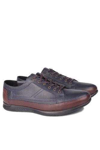 Fitbas - Fitbas 914105 424 Erkek Siyah Lacivert Büyük Numara Ayakkabı (1)